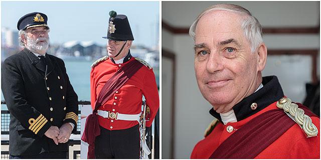 Aye Aye Captain - Derek Gleed captain of the Fort Cumberland Guard.