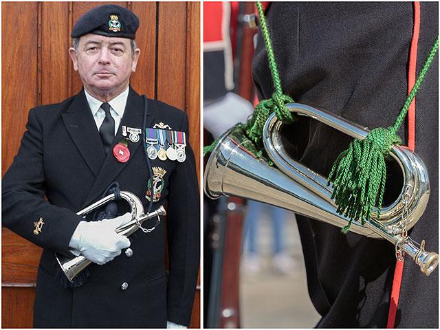 Royal Naval Association Bugler