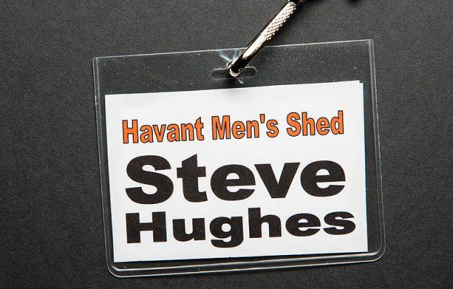 Honorary member of the Havant Men's Shed