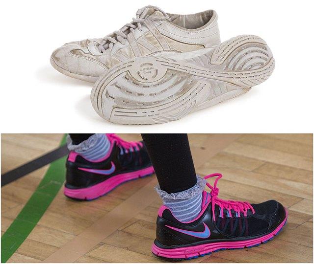 cheerleading training shoes