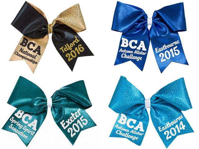 warriors cheerleading competition bows