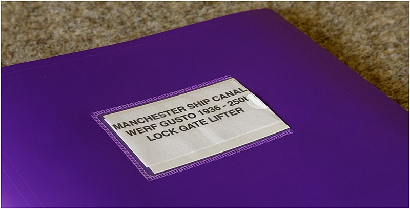 Folder with plans