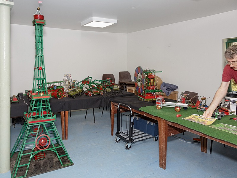 Blackpool tower meccano model by xxx