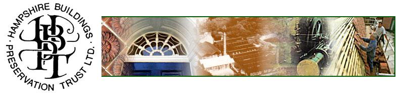 Hampshire Buildings Preservation Trust banner