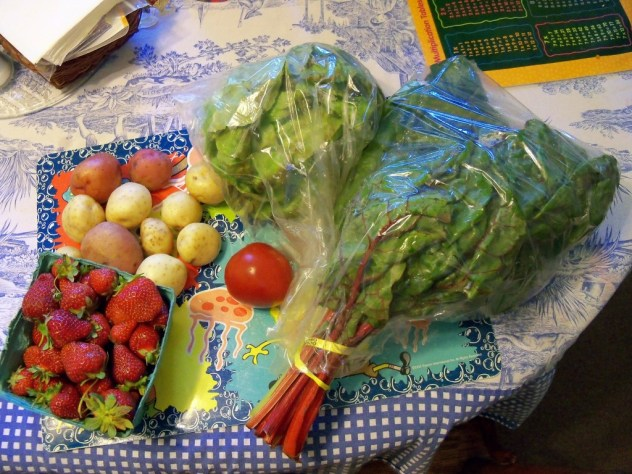 Vegetable Delivery 31 May 2011