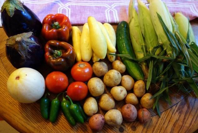 Week 17 Vegetables