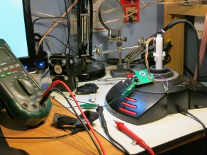 Flightstick / Joystick being modified for Xbox One controller