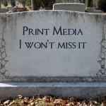 death of print