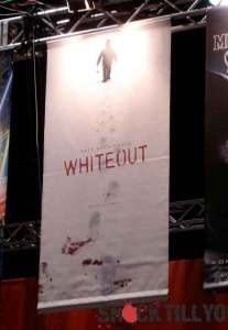 Poster for Whiteout at San Diego Comicon