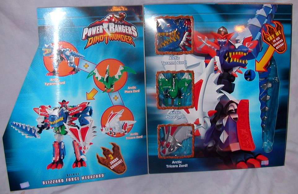 Power Rangers Dino Thunder Blizzard Megazord