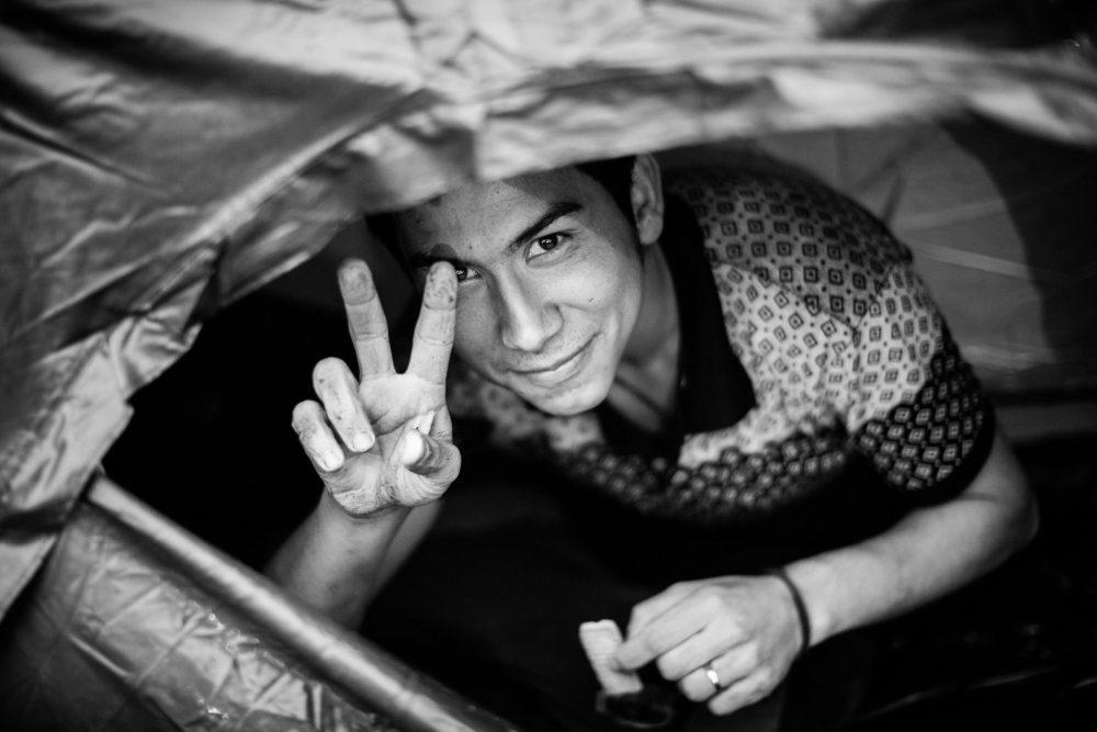 Frédéric Séguin photo sourire exil