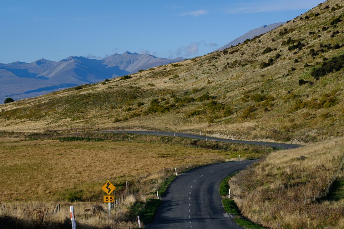 nouvelle-zélande route paysage