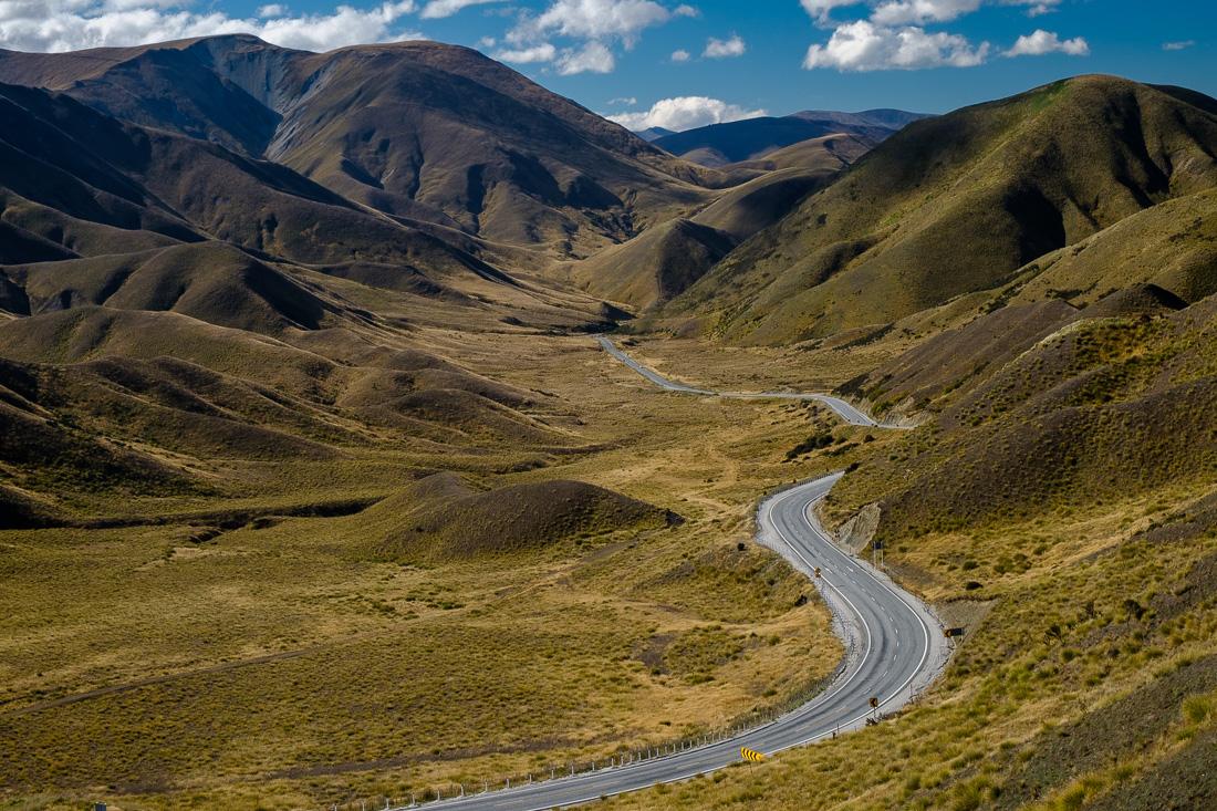 nouvelle-zélande paysage montagne