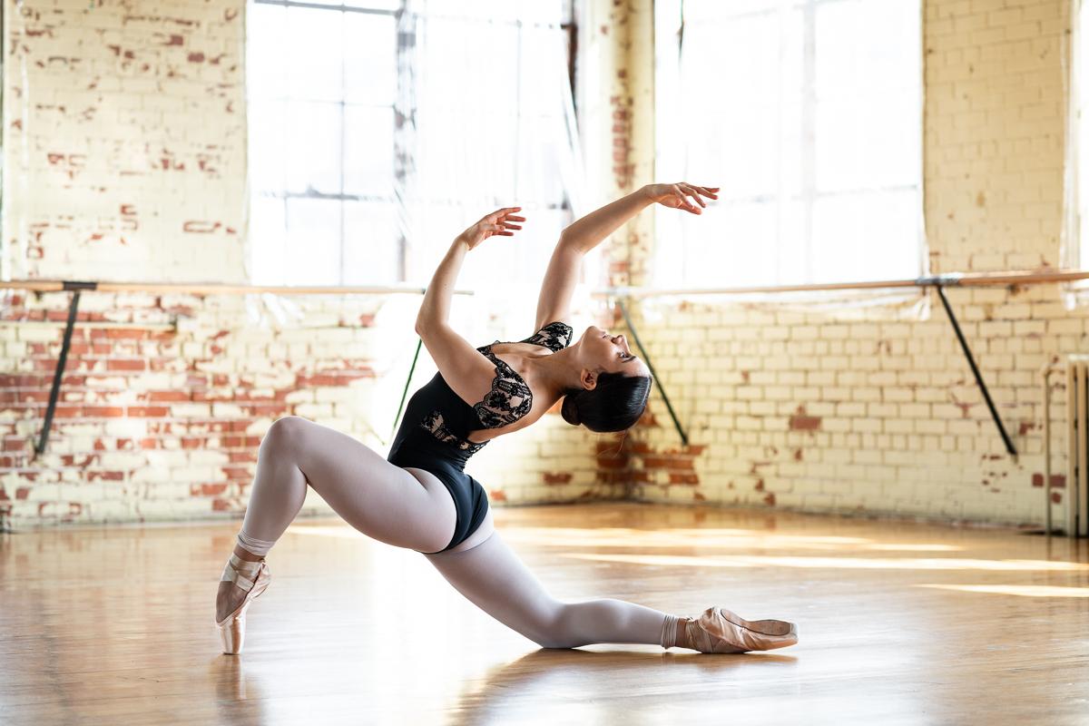 rosalie carron montreal pointes de ballet
