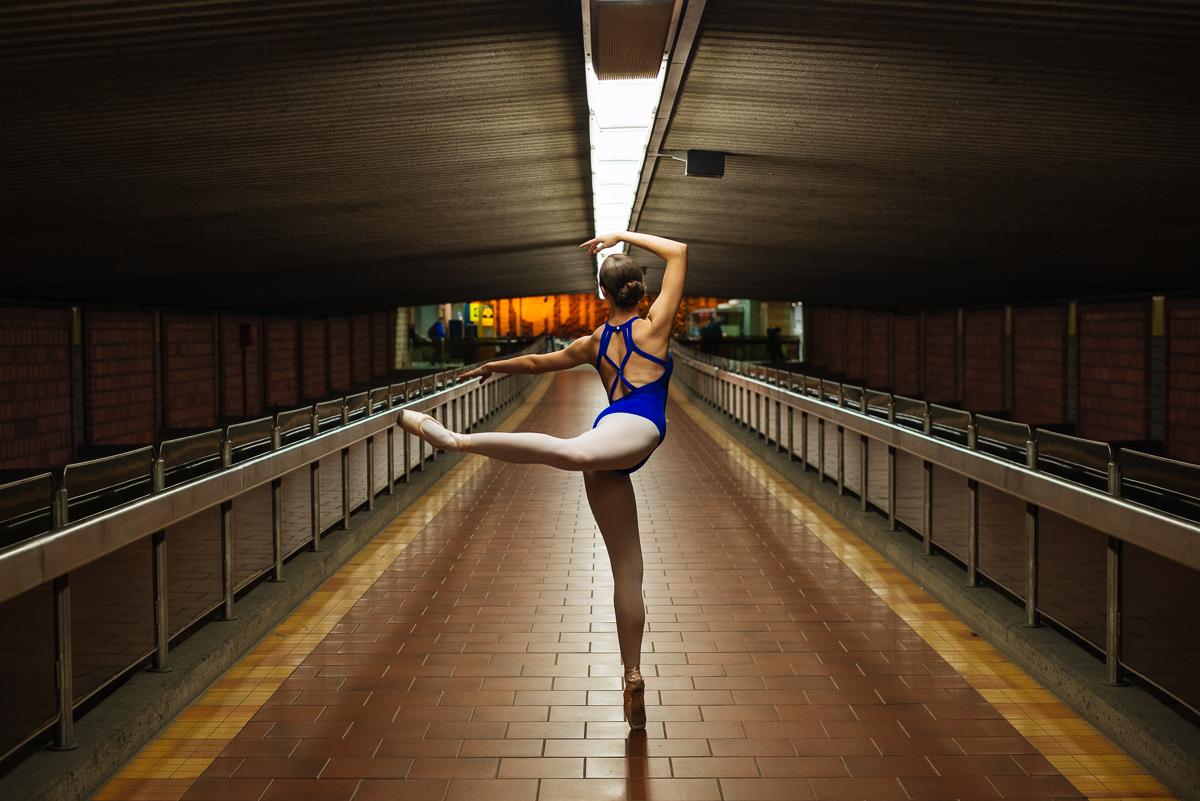 métro ligne bleu université montréal