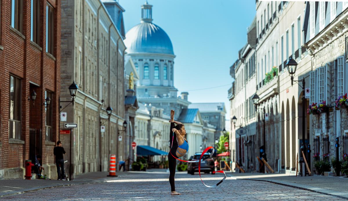 artiste cirque vieux port montréal