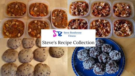 Steve's Recipe Collection   Steve Bonthrone Personal Coach Blog