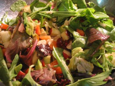 Cold Turkey Salad… yummy!