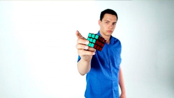 Magician Steven Brundage's Cube3