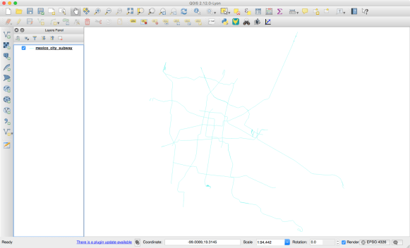 How to extract highways and subway lines from OpenStreetMap as a