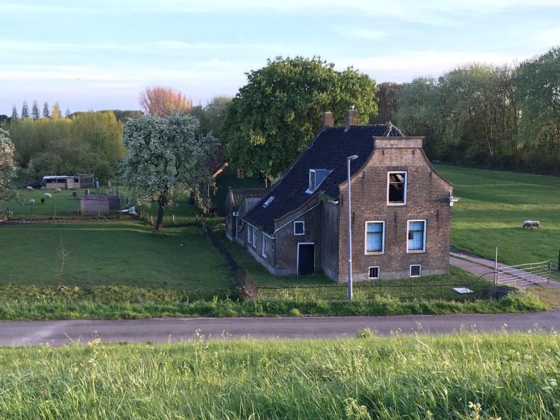 Abandoned house in Schiedam