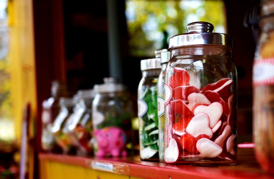 The mental lure of candy!