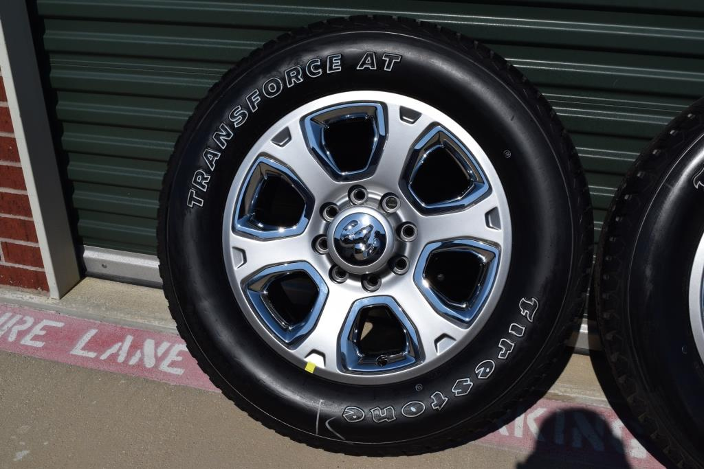 dodge ram 2500 8 lug oem factory wheels and transforce at tires