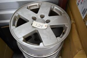 Jeep Wrangler 17 inch alloy wheels used for sale
