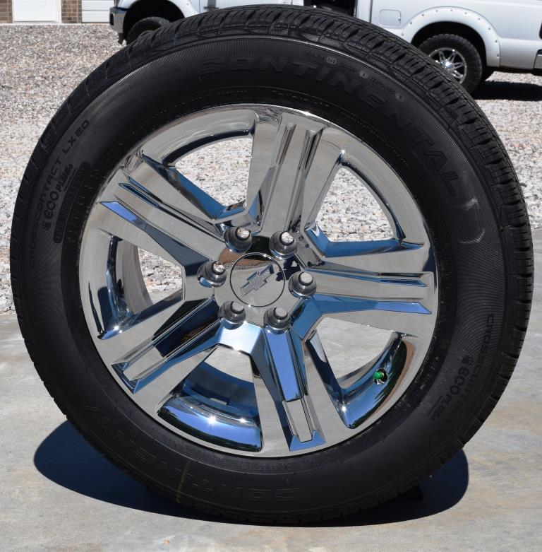 Factory chevy wheels oem take off chevrolet wheels rims chevy 20 inch chrome clad ltz wheels new style publicscrutiny Gallery