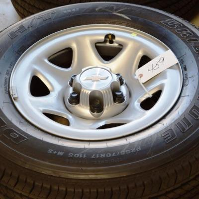 chevy 17 inch steel wheels