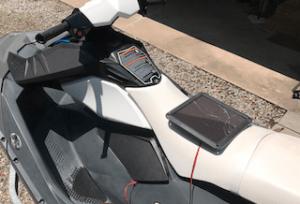 solar battery charger for jet ski on Sea-Doospark