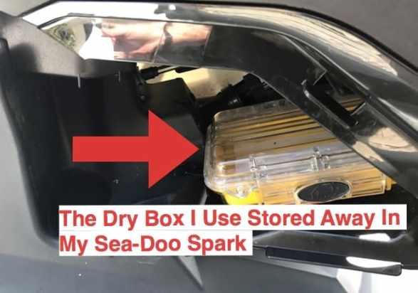 dry box storage accessory location