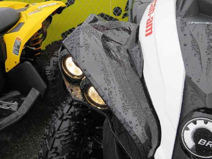 wet renegade hid led lights front