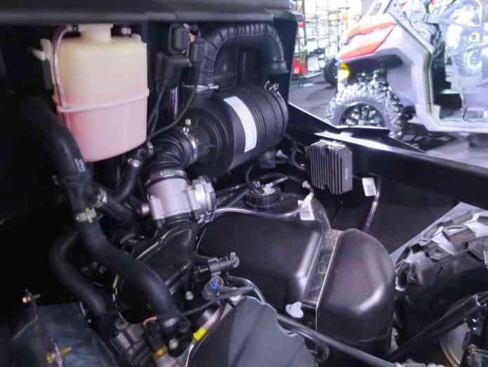 defender engine air intake