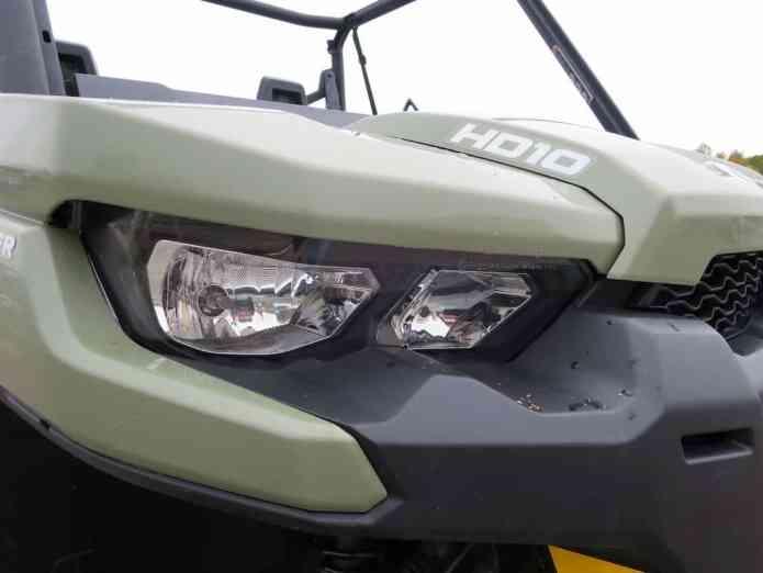 defender headlight
