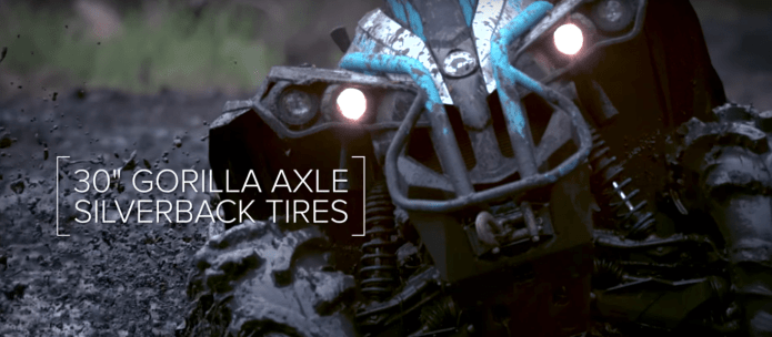 silver back tires mud
