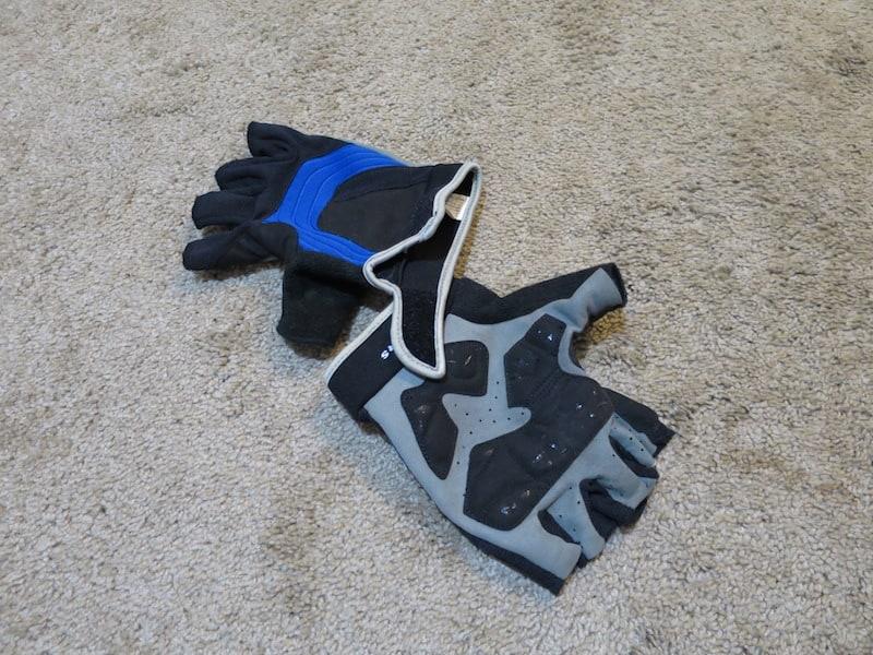 my riding gloves