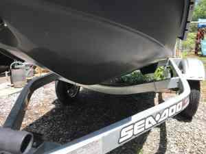 Sea-Doospark hull and trailer