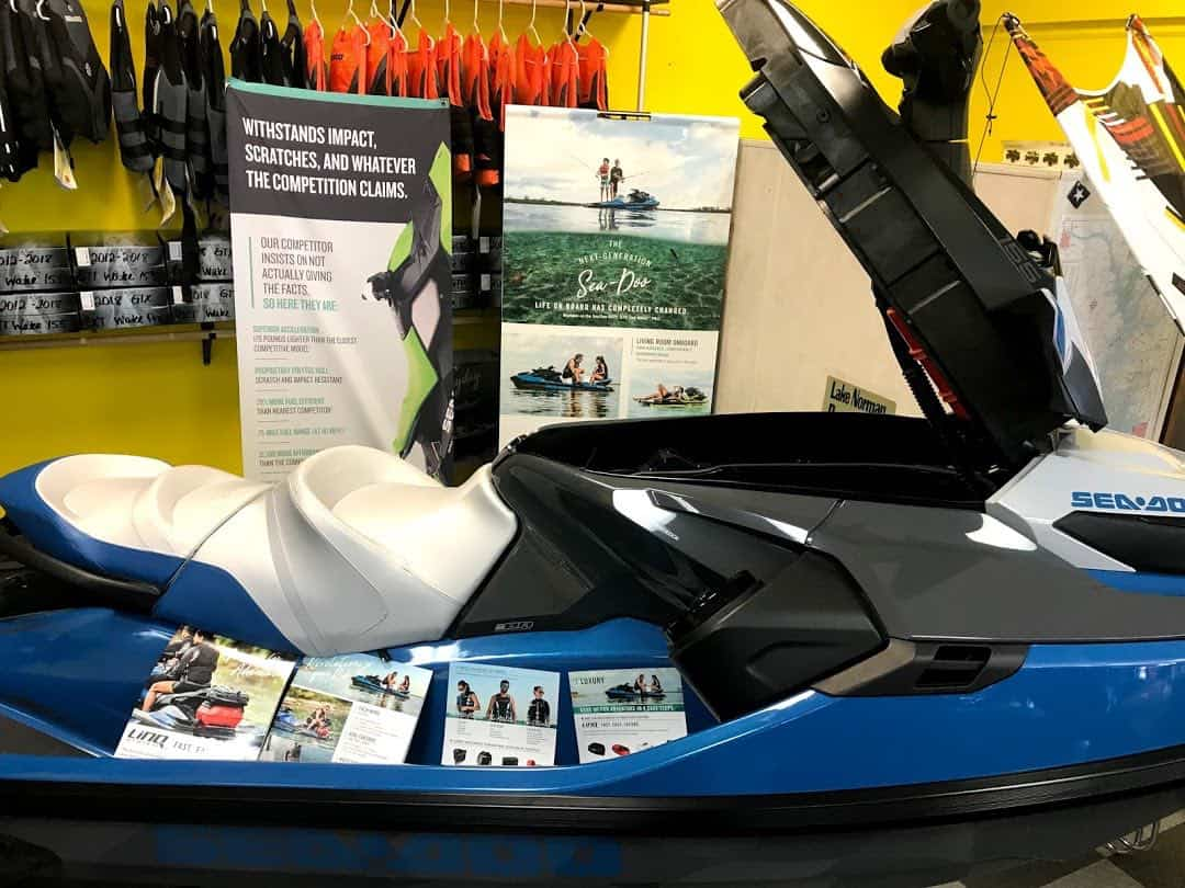 see how much a jet ski weighs