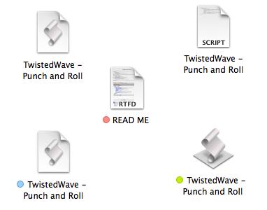 Inside the TW-PunchRoll folder