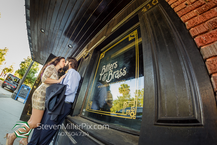 Gatsby Engagement Photographers In Downtown Sanford Florida
