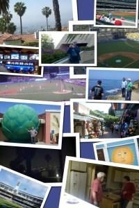 2012 Baseball Trip Collage
