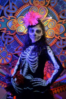 Dia de los Muertos celebration at the Hollywood Forever Cemetery in 2012