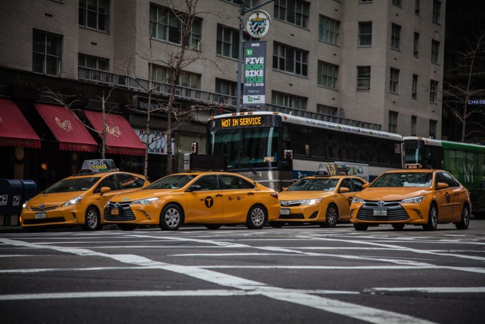 Yellow Taxi-Cab Mayhem