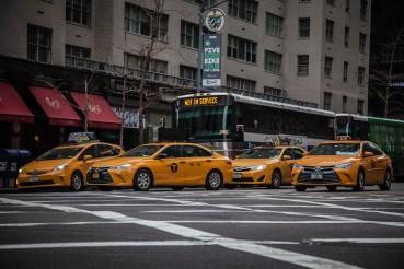 Yellow Taxi-Cab Mayhem