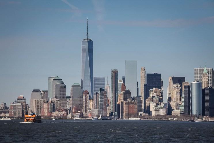 Manhattan from the Stanten Island Ferry