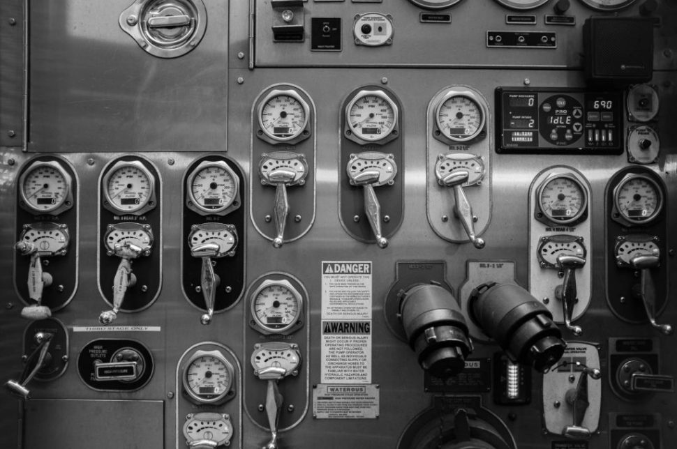Fire Engine Controls New York Fire Department
