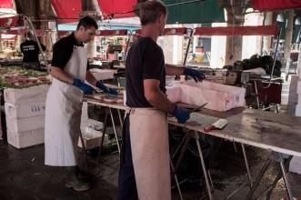 Fishmongers #1, Venice Fish Market