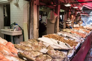 Market Stall, Venice Fish Market