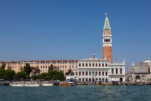 San Marco Campanile from the Grand Canal